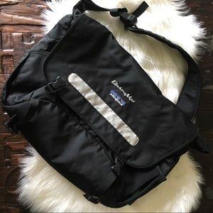 PATAGONIA Full size Black Messenger Bag